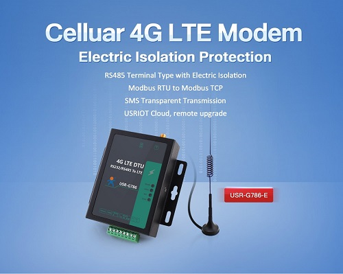 USRIOT has Launched New Product: Celluar Modem USR-G786-E
