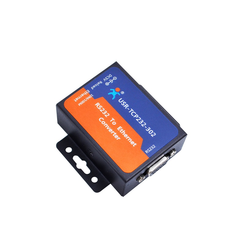 USR-TCP232-302 RS232 to TCPIP//RJ45 Converter Serial to Ethernet Server Module
