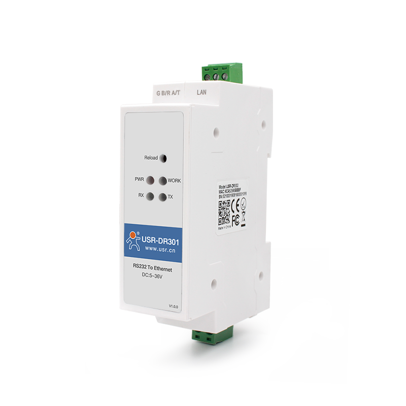 Din Rail RS232 to Ethernet Converters