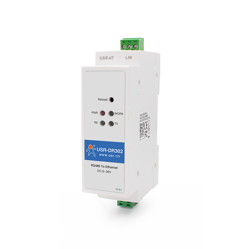 Din Rail RS485 to Ethernet Converters | Compact Ethernet Serial Servers