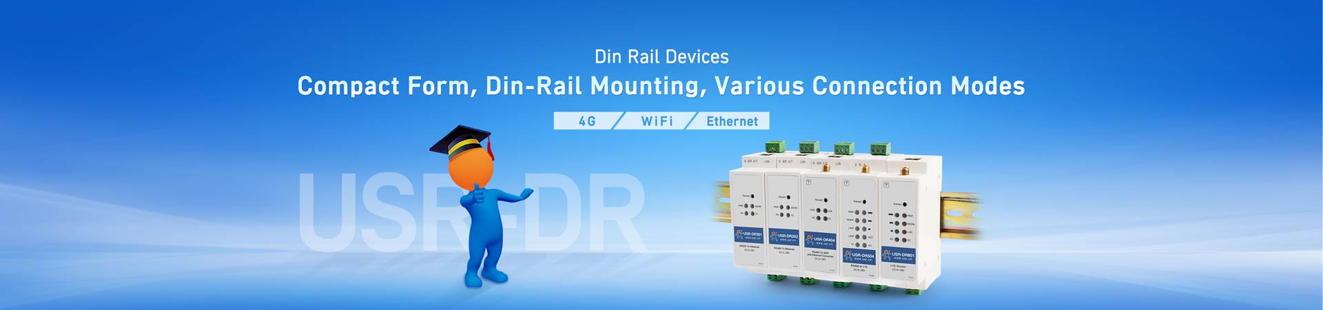 Din Rail Cellular Modems