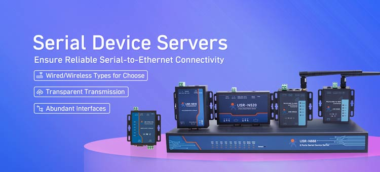 Low Cost Serial to Ethernet Converters
