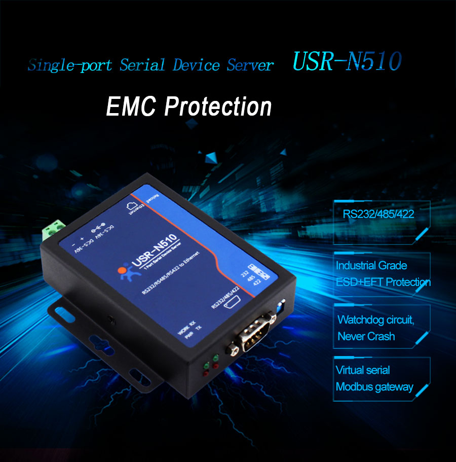 serial to Ethernet converters USR-N510